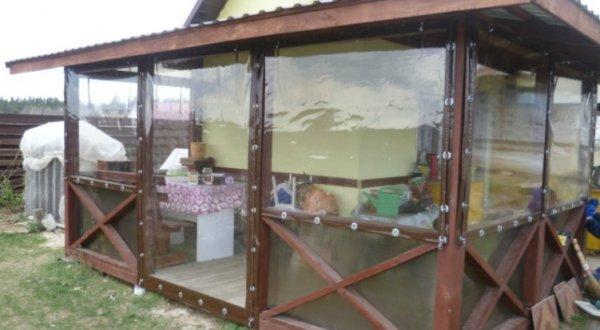 Фото 7 Мягкие окна, ПВХ шторы 338674