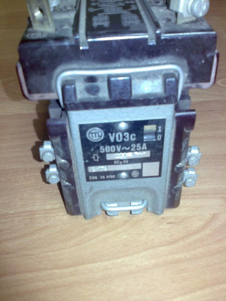 Магнитный пускатель VO3c 500V 25А 220V