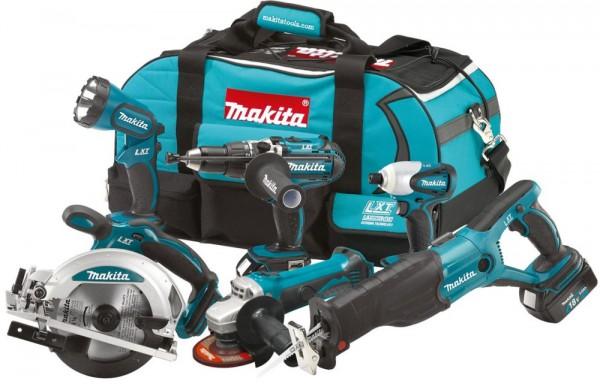 Makita LXT600 набор 6 инструментов!!!