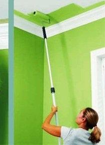 Малярные работы окраска стен и потолка