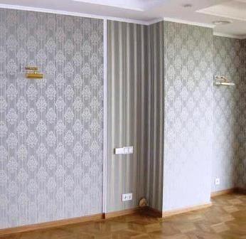 Малярно-отделочные работы Киев Поклейка обоев