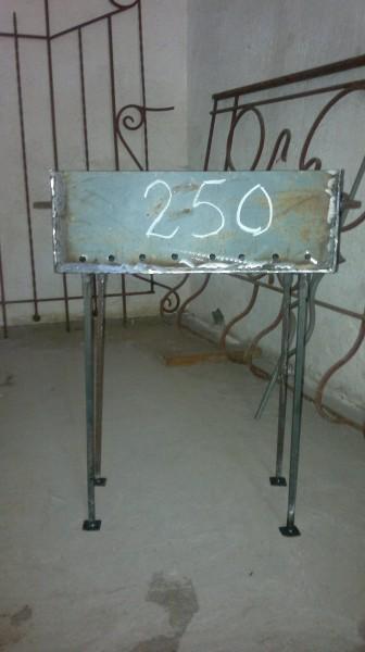 Мангалы, лист 2 мм