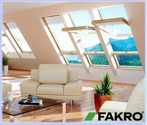Мансардные окна Fakro (Факро) • Вращательные окна FTS U2, FTS-V U2, FTP, FTU-V U3