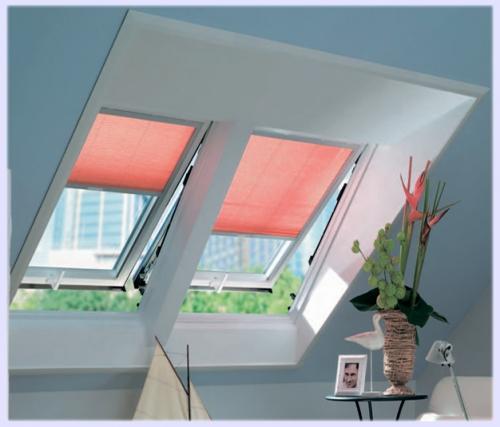 Мансардные окна Roto 435 H/K с центральной осью поворота;435H;735H;8 47H