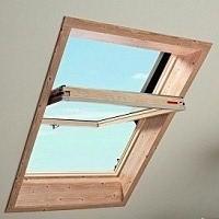 Мансардные окна ROTO Designo R45 H дерево, размер 54/78см. В наличии различные размеры.