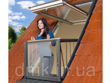 Фото  1 Мансардне вікно-балкон FAKRO FGH-V P2 Galeria 2343945