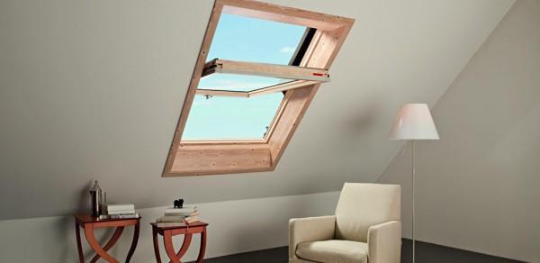 Мансардное окно Designo R4 Традиционное решение