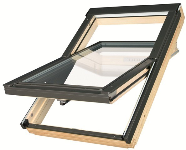 Мансардное окно FAKRO FTP-V U4, 04 66x118 cм