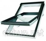 Мансардное окно FAKRO FTS-V U2 66x118 с окладом