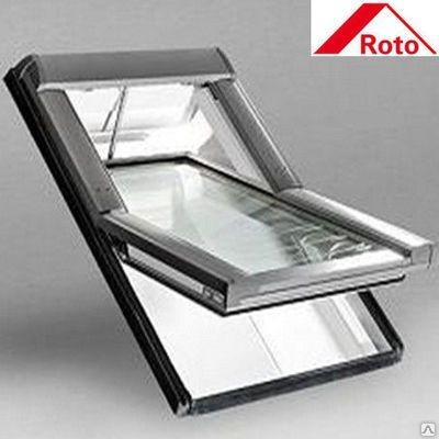 Мансардное окно Roto Designo WDF R45 H N AL 07/09