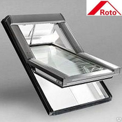 Мансардное окно Roto Designo WDF R45 H N AL 07/11