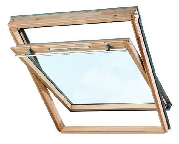 Мансардное окно VELUX GZL 1059, 78x118 cм