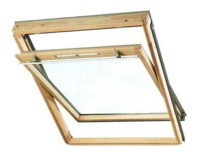 Мансардное окно VELUX GZL 1059; размер 78х140