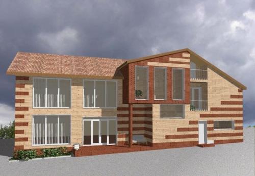 Мармарок - навесной вентилируемый фасад