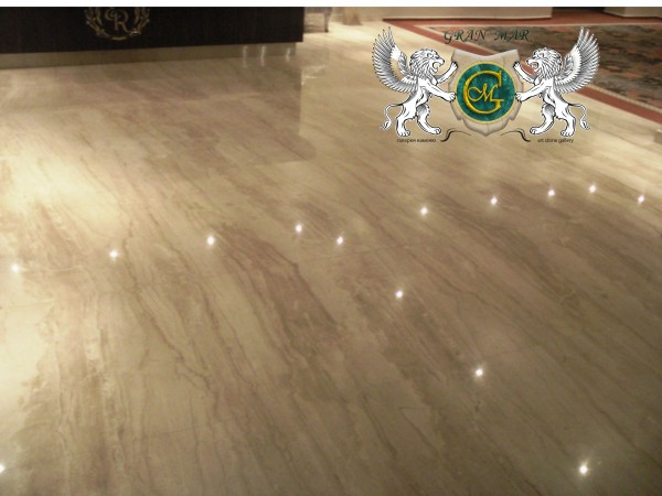 Мармурова підлога. Підлога з мармуру
