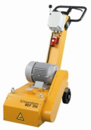 Машина для фрезерования бетонных полов