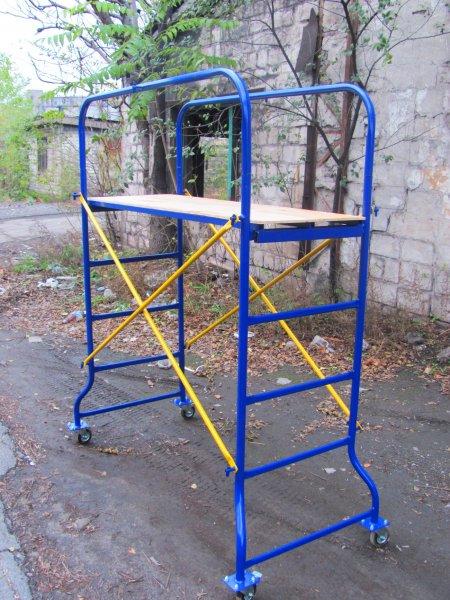 Фото  1 Леса строительные,подмости-Мастерок,Вышка-тура модульная передвижная, в полимере. 405569