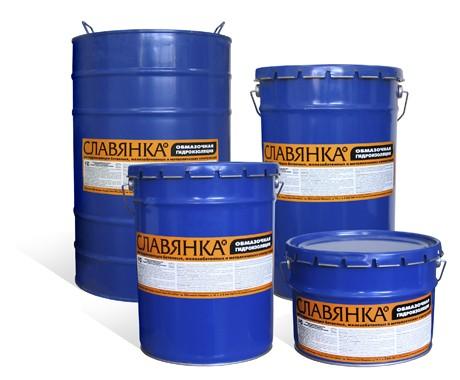 Мастика для гидроизоляции и кровли Славянка-однокомпоне нтный битумно-полимерный состав. Расход 1.39 кг/кв. м.