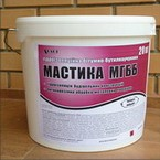 Мастика гидроизоляционная битумно-бутилкаучуко вая МГББ