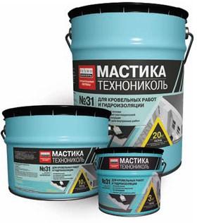 МАСТИКА ТН №31 бітумно-емульсійна мастикадля гідроізоляції фундаментів і ремонту всіх видів покрівель