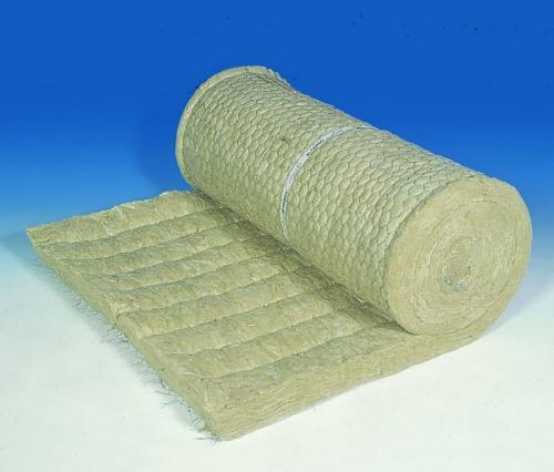 Маты теплоизоляционные из супертонкого базальтового волокна в обкладке из металлической сетки