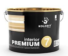 Матовая акриловая краска Колорит Премиум 7