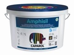 Матовая фасадная краска Amphisil Caparol. фасадная краска силикатного характера, усиленная силоксаном