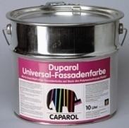 Матовая фасадная краска Duparol Universal-Fassadenfa rbe Caparol. Содержащая растворитель, на основе смолы Плиолите.