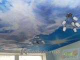 Матовые натяжные потолки 2м