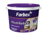 Фото 1 Краска латексная Mattlatex TM Farbex, 341277