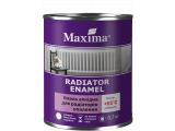 Фото  1 Эмаль алкидная для радиаторов отопления Maxima глянцевая белая 0,7кг 2271152