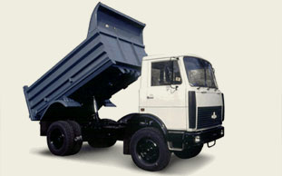 МАЗ 5551, грузоподъёмность: 10 т, объем платформы: 8,3 м. куб.