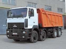 МАЗ-6516А8-321: 8х4, двиг. ЯМЗ-6581.10 (Е-3), 400 л. с. , КПП-12, г/п- 25 т. , V=21 м3, бак-300 л. , АБС.