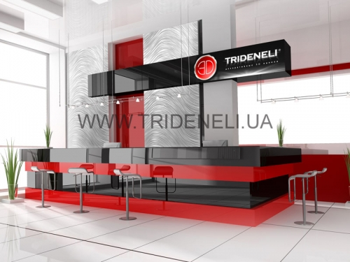 Мебель 3д для ресепшенов ресторана, клуба, кафе, гостиницы.