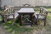 Мебель деревянная на заказ для загородных кафе, ресторанов типа гриль бар