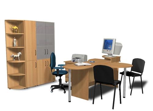 Мебель для офиса со склада в Киеве от Дизайн-Стелла.