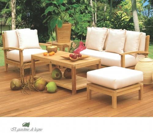Мебель для террасы: плетеная мебель из искусственного ротанга, натурального тика