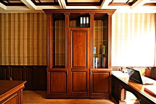 Мебель из натурального дерева для офисов