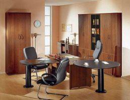 Мебель офисная стандартная и по индивидуальному проекту.