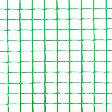 Фото 3 Сетка пластиковая садовая Клевер 20х20 мм 1х20 м зеленая 332153