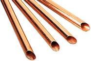 Медная труба полутвердая в отрезках длиной по 3 м.* 22 мм. Италия