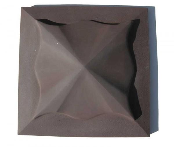 Колпак на заборный столб Медуза Размер 450х450x110мм