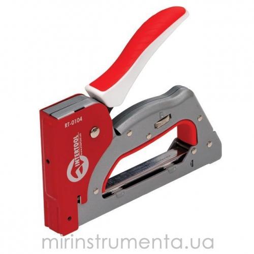 Механический скобозабивной пистолет INTERTOOL RT-0104