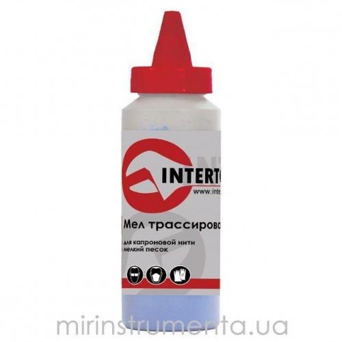 Мел трассировочный синий INTERTOOL MT-0005