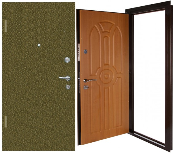 Входная стальная дверь «Меркурий» 2060*1030*80 с замером, доставкой по Харькову и установкой.
