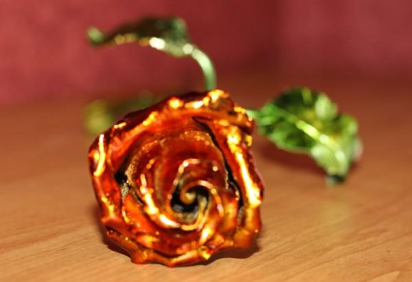 металлическая роза на заказ в днепропетровске