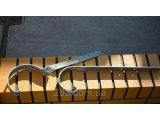 Фото  1 Металева водостічна система, жолоб D-150 мм, труба D-120мм, кольорова * Заглушка права / ліва 2164435