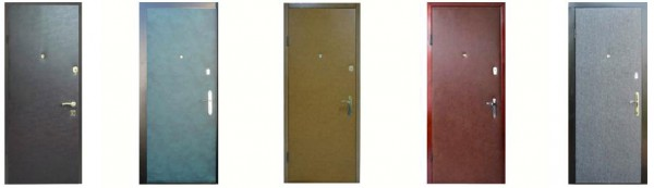 Металлические двери под кож винил. Мы предлагаем Вам очень надежные входные металлические двери.