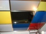 Металлические кассеты для подвесного потолка, из алюминия и 0,45 стали декоративным покрытием,