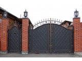 Фото 2 Ворота распашные из профнастила,калитки 332646